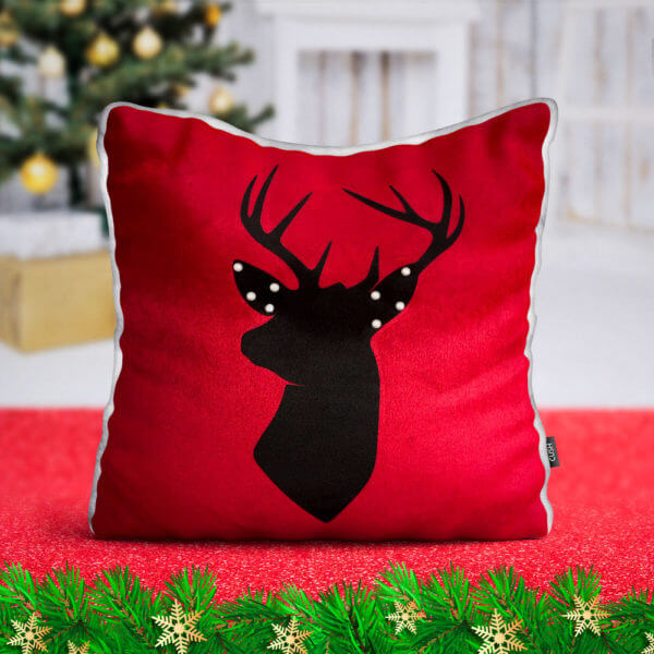 Cojin Reindeer Head