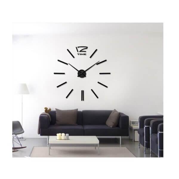 Reloj de pared Espi negro