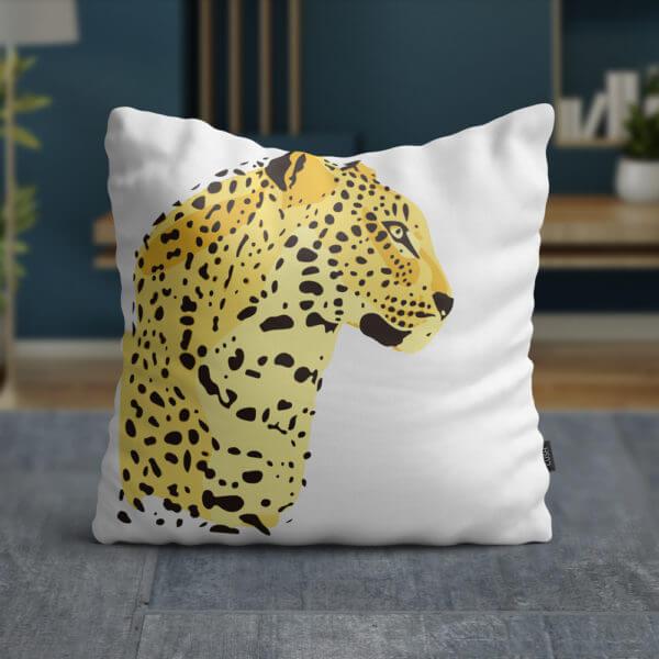 Cojín Leopard