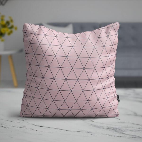 Cojín Pink Weft