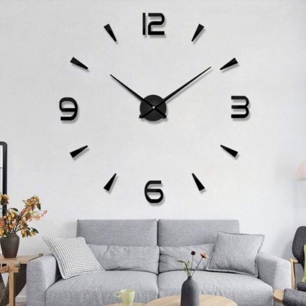 Reloj de pared Plazz negro