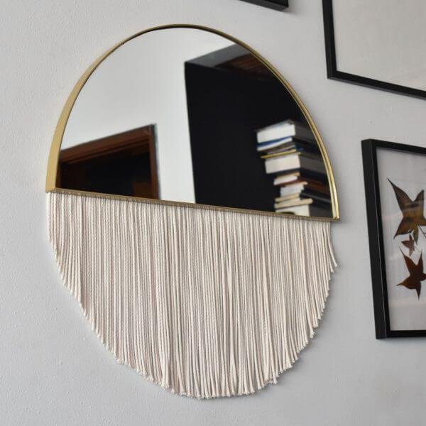 Espejos decorativos o Espejos para baños luna 1 Ebani