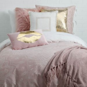 Edredon o Duvet mandala rosado Ebani