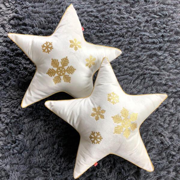 2 Estrellas Navidad Beige