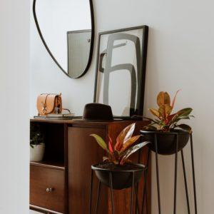Espejos decorativos o Espejos para baños klint black Ebani