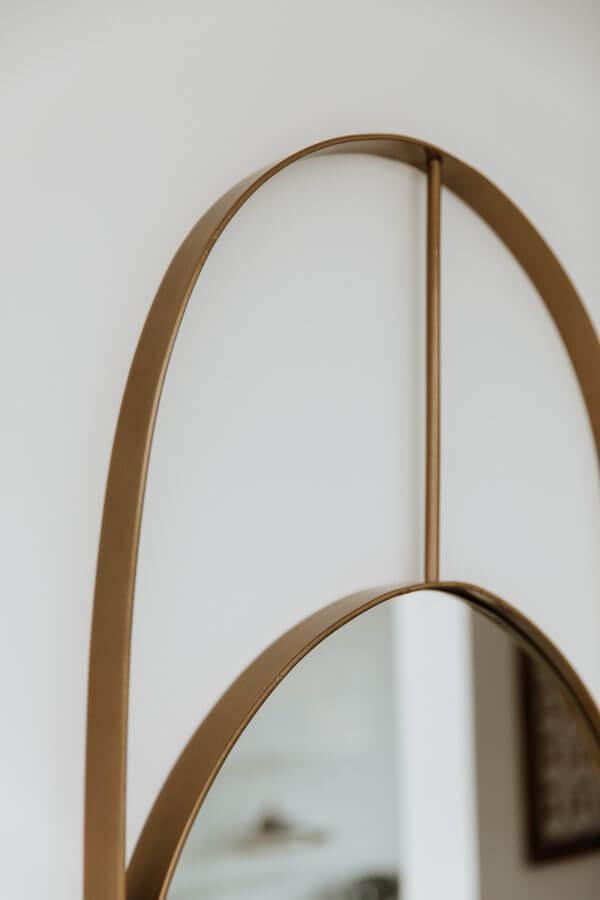 Espejos decorativos o Espejos para baños hengen gold 2 Ebani
