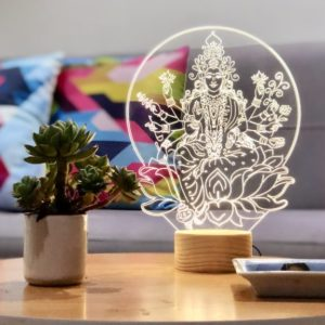 Lámpara LED Mandala Moon