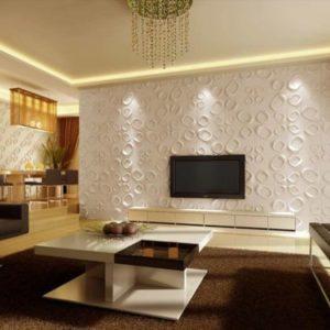 PAREDES 3D Fibra de bambu – DL074*3 mts2 + Materiales de instalacion + ENVIO GRATIS