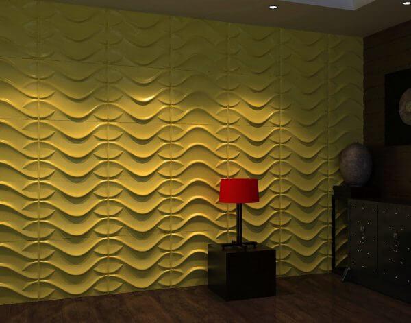PAREDES 3D Fibra de bambu – DL069*3 mts2 + Materiales de instalacion + ENVIO GRATIS