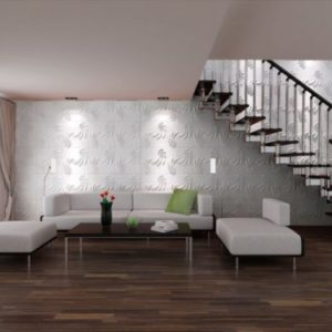 PAREDES 3D Fibra de bambu – DL047 * 3 mts2 + Materiales de instalacion + ENVIO GRATIS