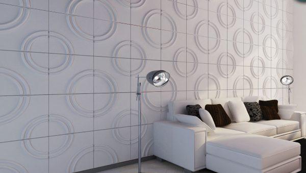 PAREDES 3D Fibra de bambu- DL075*3 mts2 + Materiales de instalacion + ENVIO GRATIS