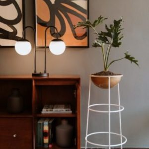 Materas decorativas para hogar Otta Alta 1 blanca ebani