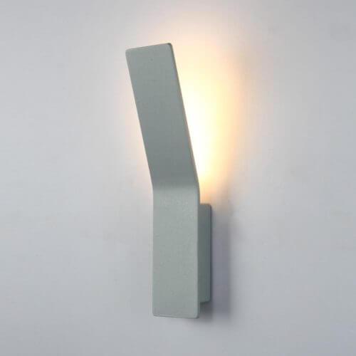 Lámpara de pared Aurora Gris