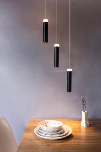 Lámpara de techo GOTA DESIGUAL x 3