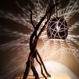 Lámpara de Mesa Vintage Destello