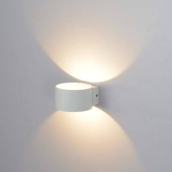 Lámpara de pared Selene Blanca