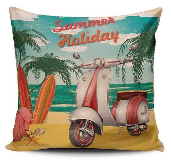 Cojines Decorativos Vespa Summer Vintage
