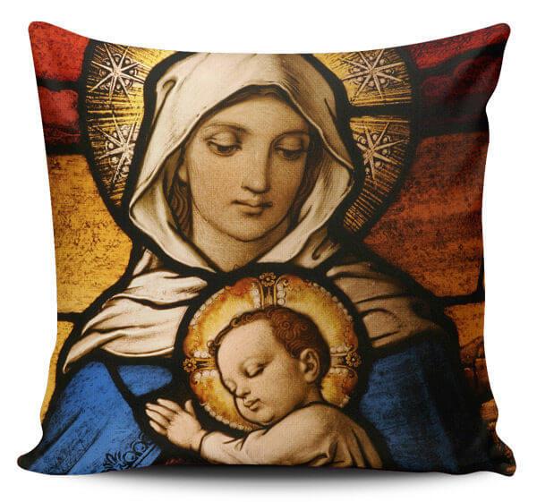 Cojines Decorativos Virgen Maria 01