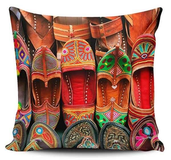 Cojines Decorativos Zapatos Hindú 04
