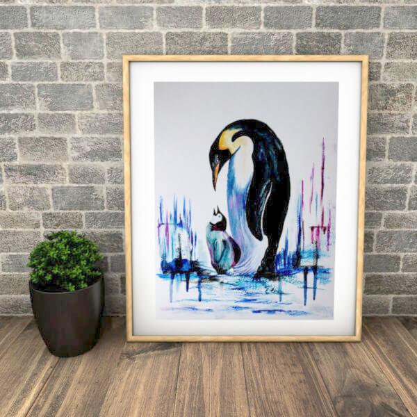 """Obra de Arte """"Cuadro Pinguis"""""""