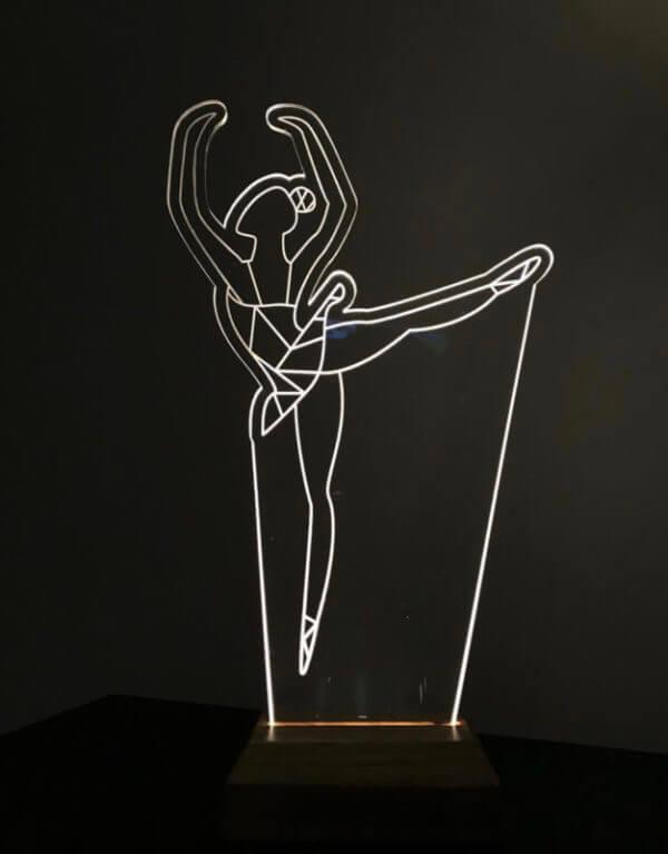 Lámpara LED Ballet