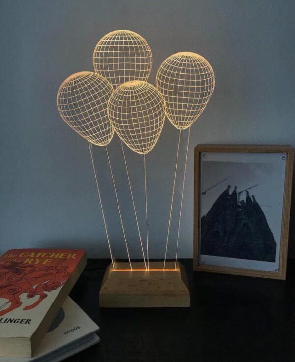 Lámpara LED Globos