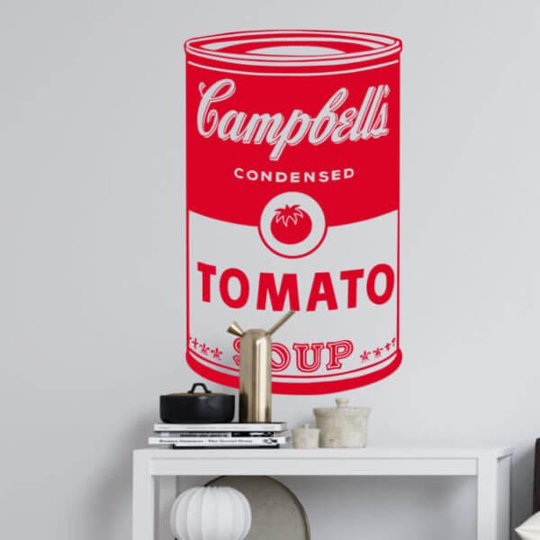 Vinilo decorativo Pop Art Campbells