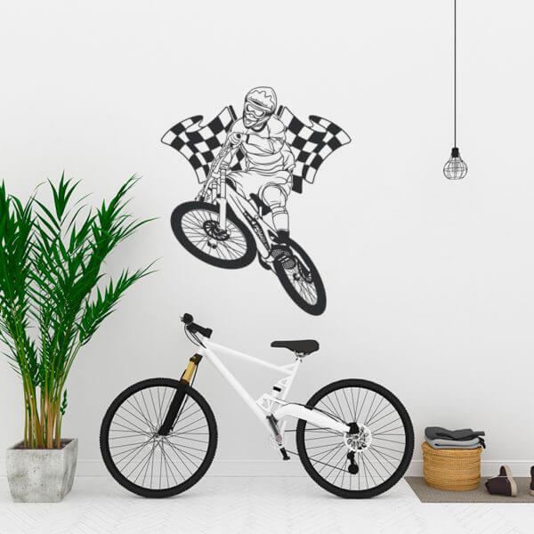 Vinilo Decorativo Deportivo BMX
