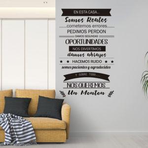 """Vinilo Decorativo de texto para cocinas """"El Café"""""""