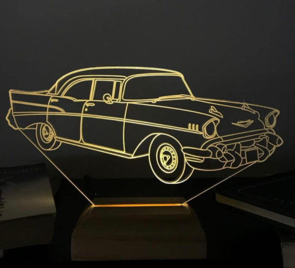 Lámpara LED Carro