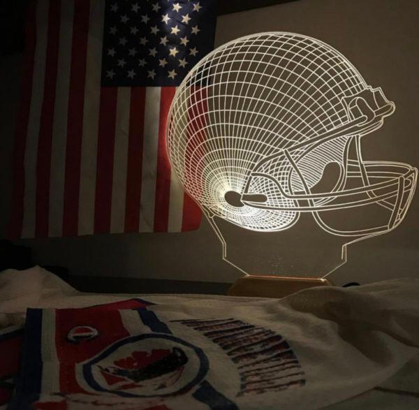 Lámpara LED Fútbol Americano