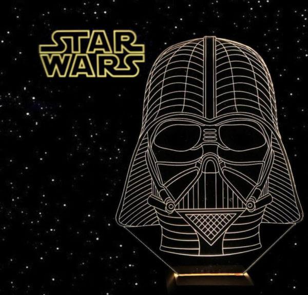 Lámpara LED Darth Vader