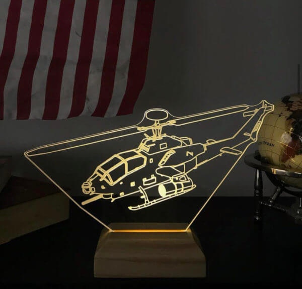 Lámpara LED Helicóptero