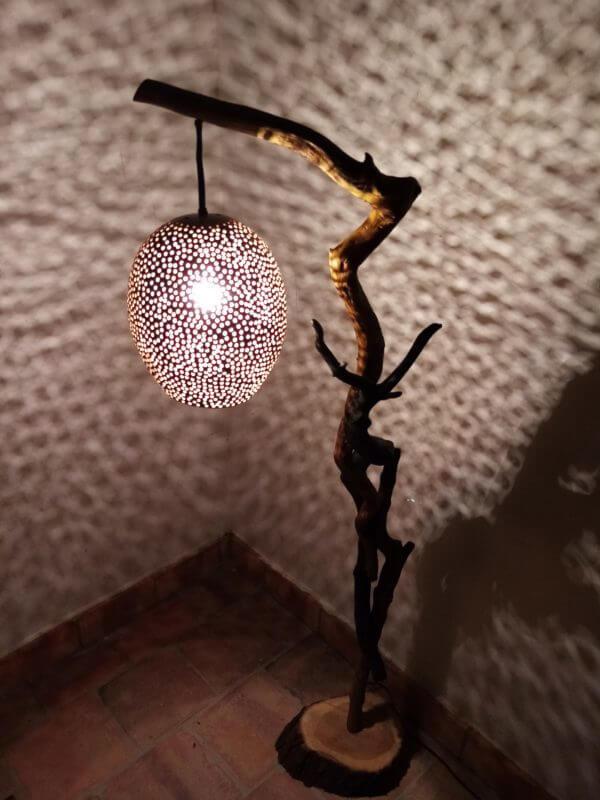 Lámpara Iroko Universo