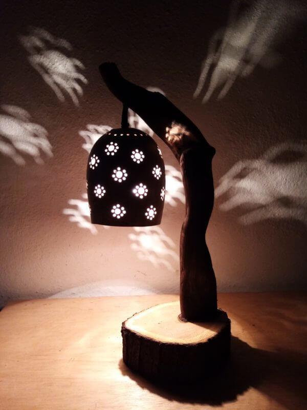 Lámpara de Mesa Floreciendo