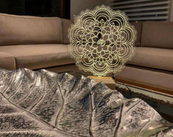 Lámpara LED Mandala
