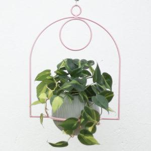 Soporte para plantas en macramé Claro