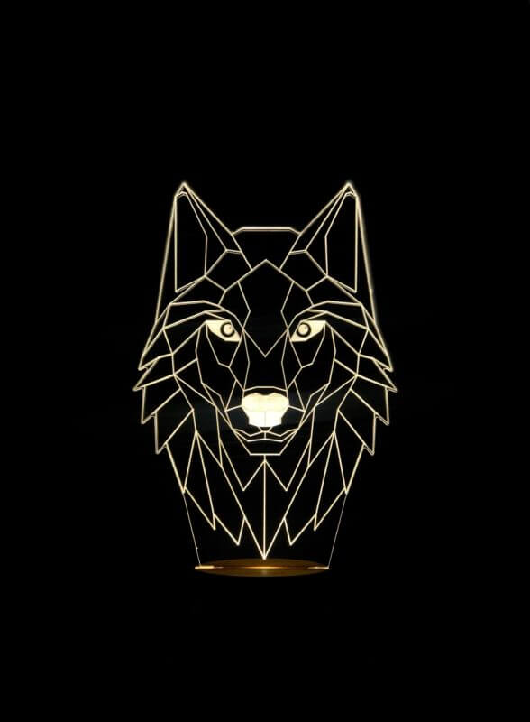Lámpara LED Wolf Brightness