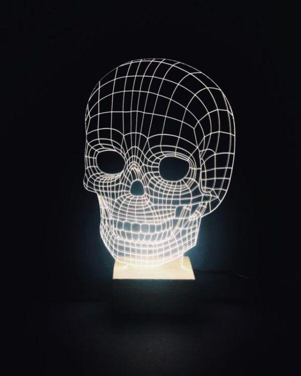 Lámpara LED Cranium Glow