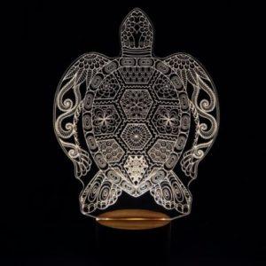 Lámpara LED Jirafa Mandala