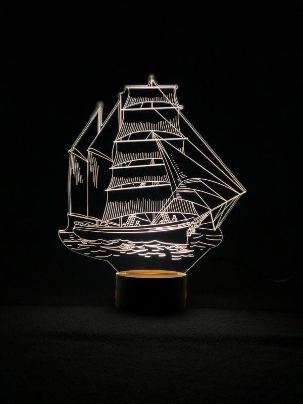 Lámpara LED Barco Vela