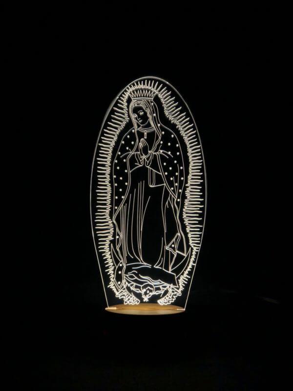 Lámpara LED Virgen de Guadalupe
