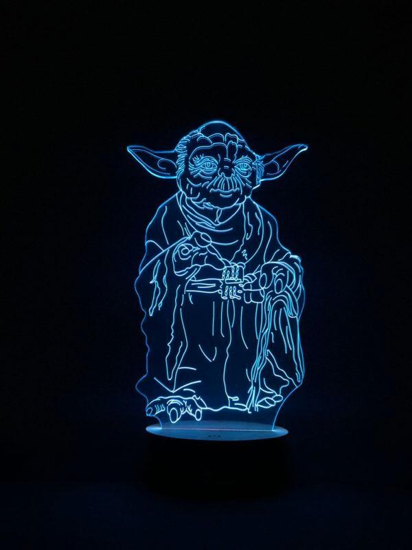Lámpara LED Yoda