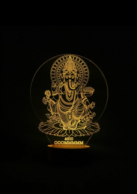 Lámpara LED Ganesha