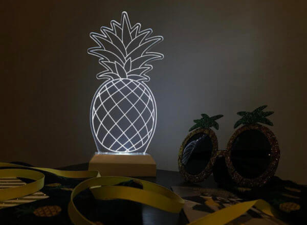 Lámpara LED Piña