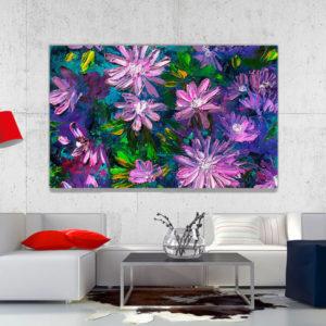cuadro decorativo flores vintage 37