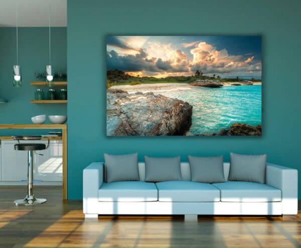 cuadro decorativo playa 01-2