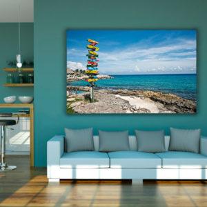 cuadro decorativo playa 04