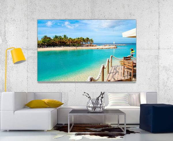 Cuadro Decorativo Playa 06