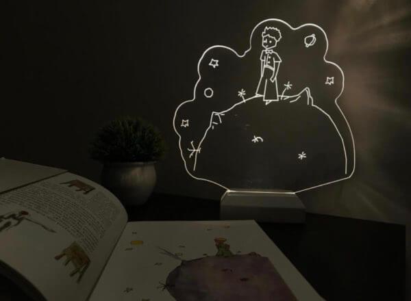 Lámpara LED Principito